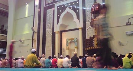 Masjid Usama Zaid, Wangsamaju