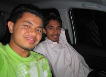 Sayuthy si Co-Pilot balik kampung~