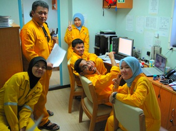 Project team Adamaya!