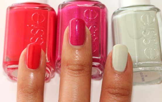 essie-summer-2011-too-too-hot-super-bossa-nova-absolutely-shore
