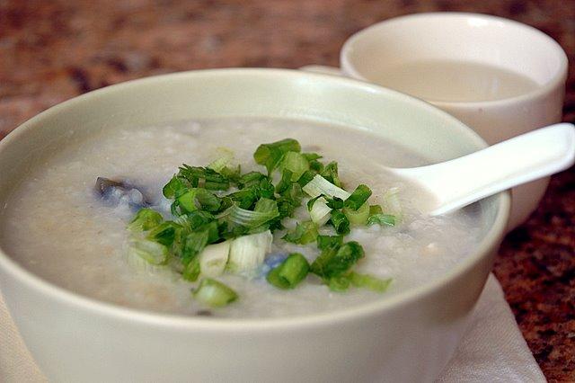 Shaved Ice Sundays: Crock Pot Rice Porridge (Congee or Jook)
