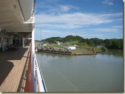 Entering Mira Flores Locks (Small)