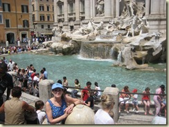 C and the Trevi Fountain