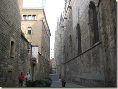 Roman Wall and Cathedral
