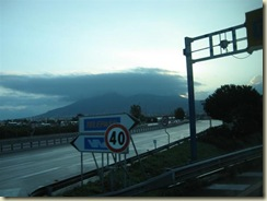 Naples Vesuvius under Clouds (Small)
