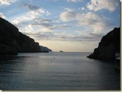 Corfu Paleokastritsa boat dock view (Small)