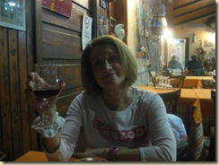 Eating at Il Delfinos (Small)