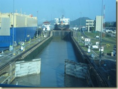 Miraflores locks opening for Journey (Small)
