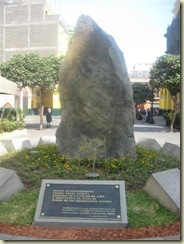 Granite Monument to Indigenous Peoples (Small)