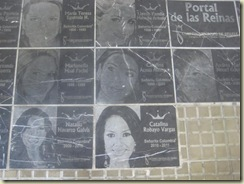 Miss Colombia sidewalk of fame (Small)