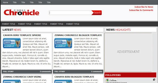 free-premium-magazine-style-professonal-blogger-template- zinmag-chronicle