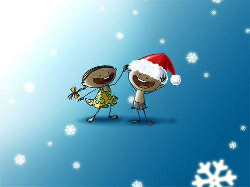 Christmas Backgrounds FREE PSD FILES