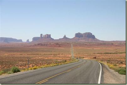 48 - Prachtige route naar Monument Valley