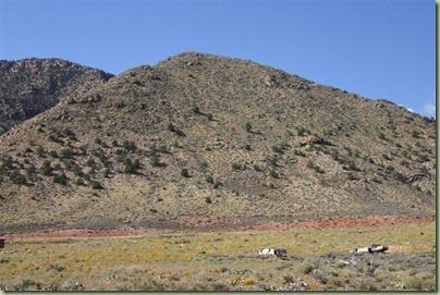 53 - Op weg naar de Grand Canyon rijd je door indianenland, en ze zijn er zooo zuinig op