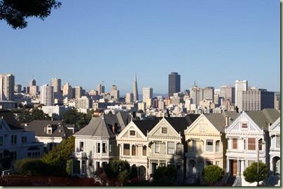 09 - Weer terug in SF, een leuke rij huisjes
