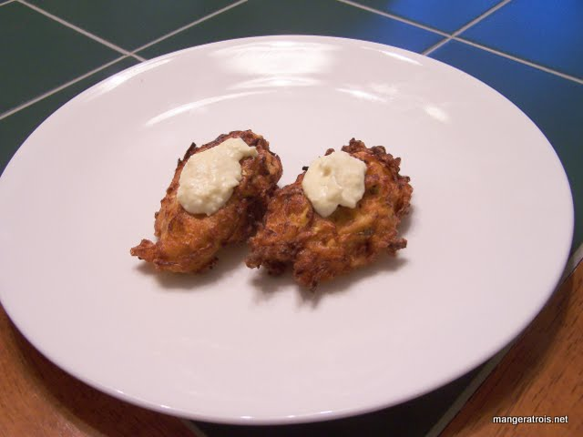 Patty Pan Fritters