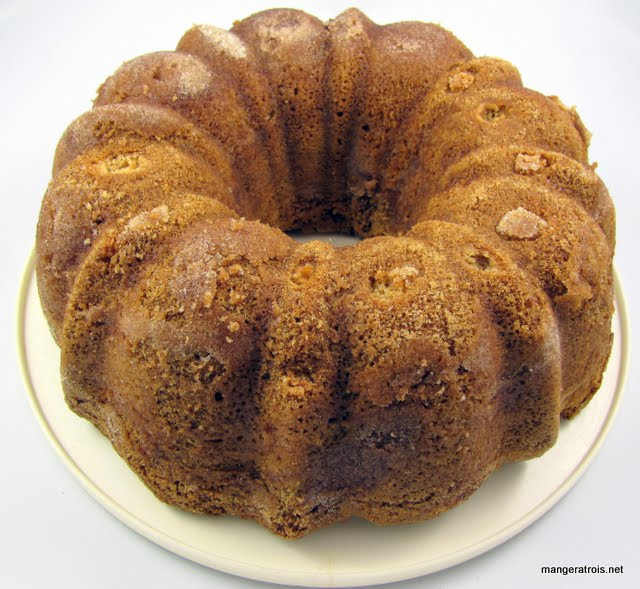 Snickerdoodle Bundt Cake