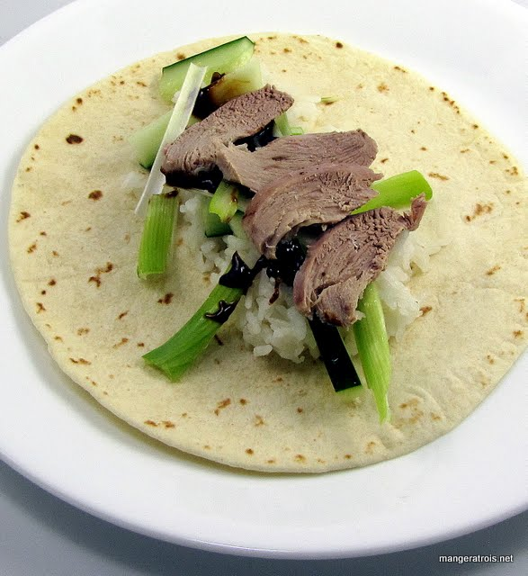 Slow Cooker Peking Duck