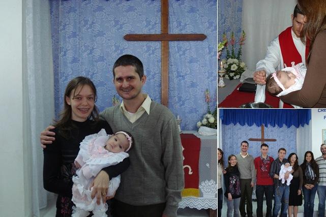 Exibir batismo Gabriele