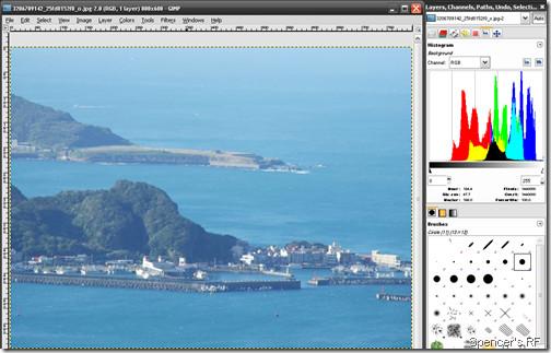 使用GIMP在照片上來做手動色彩平衡