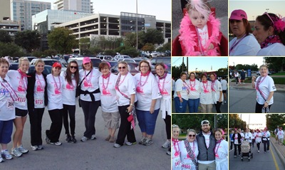 View walk for the cure