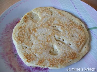 Pancake w/o syrup