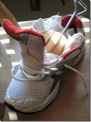 Image result for stretching tennis shoes