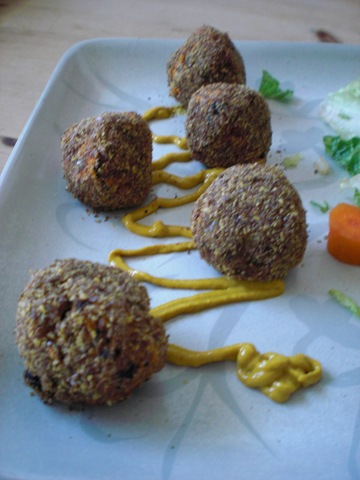 Sweet potato balls recipes