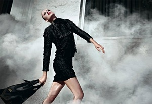 Emporio Armani Fall 10 Camp, Karmen Pedaru by Mario Sorrenti 6