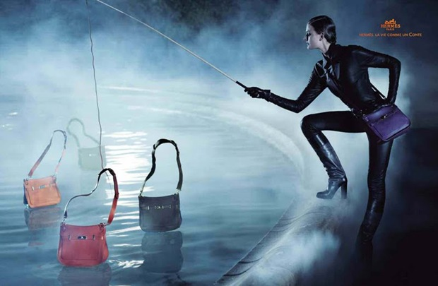 Constance Jablonski for Hermes Fall Winter Campaign 04