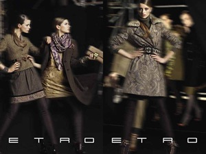 ETRO Fall Winter 2010.11 Campaign 04