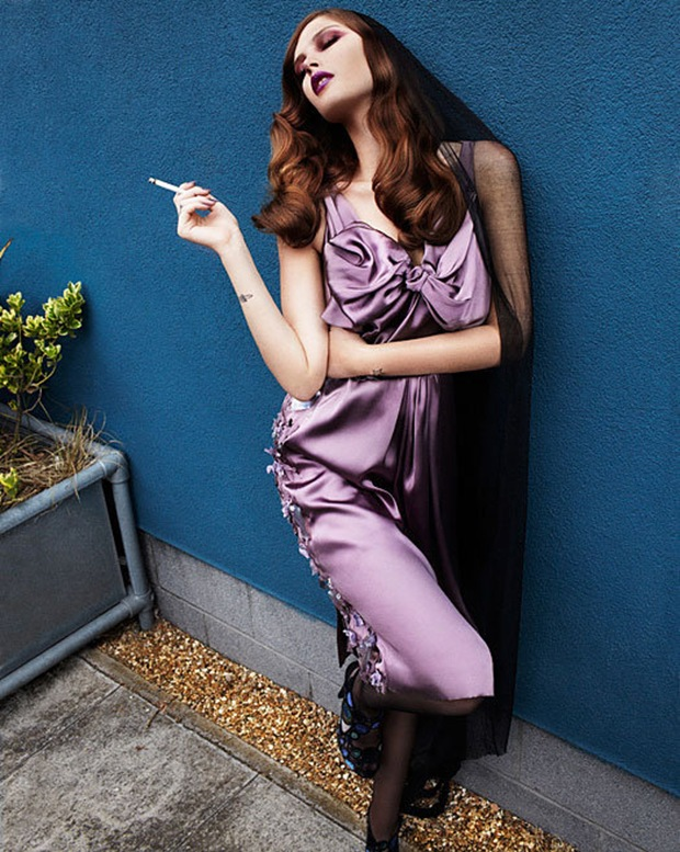 Catherine McNeil by Rafael Stahelin for Vogue Korea Sept10