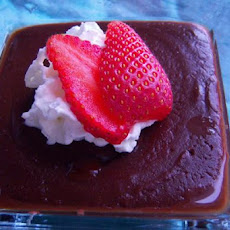 Creamy Milk Chocolate Cornstarch Pudding