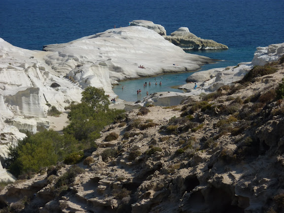 Blog de voyage-en-famille : Voyages en famille, Milos, côte Nord