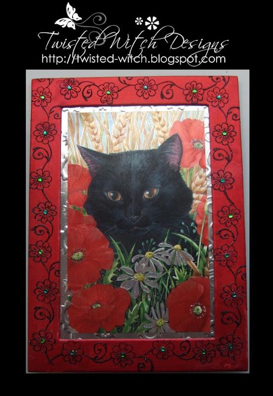 Cat Frame Lg