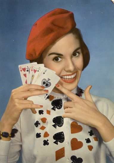 Cartes Postales Pop et  Kitsch des années 50, 70 et 70 - Pop and kitsch vintage postcards from the fifties, the sixties and the seventies : Femmes d'intérieur
