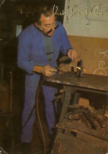 Cartes Postales Pop et  Kitsch des années 50, 70 et 70 Proper workers / Vrais travailleurs