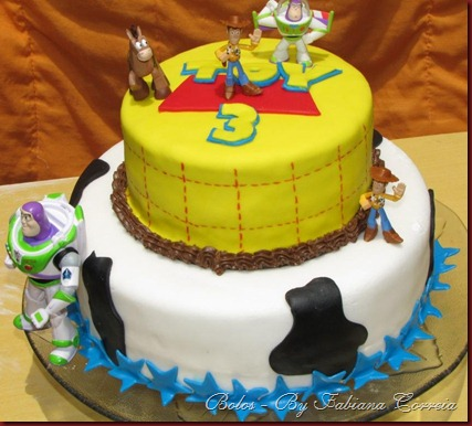 bolo cake toy story