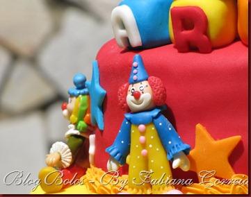 bolo cake palhaço circo III (1)