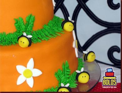bolo abelha, bolo colméia, bolos decorados, bolos fabiana correia, bolos maceió-AL
