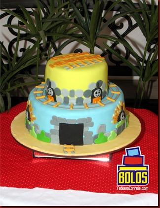 bolo thomas e seus amigos, bolos fabiana correia, bolos maceió-al 2