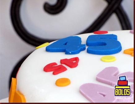 bolo números, bolo decorado, bolo pasta americana, bolo sem tema, bolos fabiana correia, bolos maceió-AL
