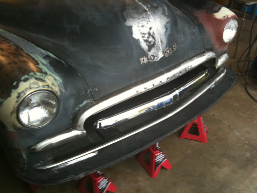 (1949 chevy foating grill)