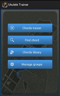 Ukulele Chords Trainer - screenshot