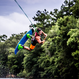 Flying High by James Culbreth - Sports & Fitness Watersports ( wakefest, albany, georgia, wakeboarding, geogia )