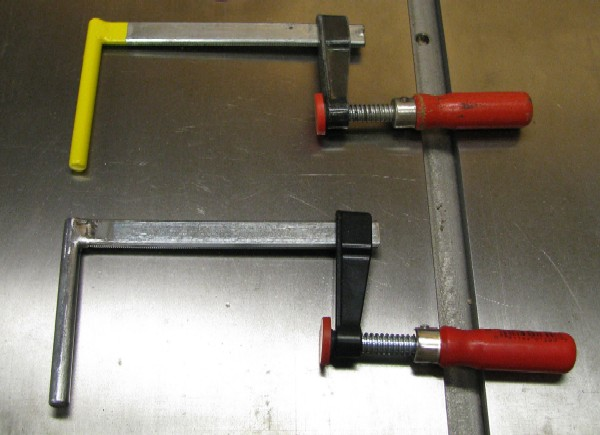 Sacrificial Table Saw Fence Clamps