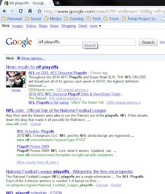 default google search