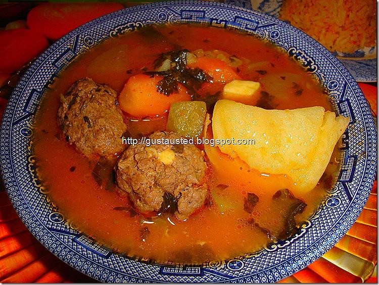 Alb ndigas en caldo con verduras receta cocina casera - Albondigas de verdura ...