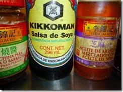 Recomiendo Salsa de Soya KIKOMAN