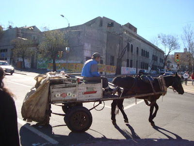 One way to collect garbage in Montevideo